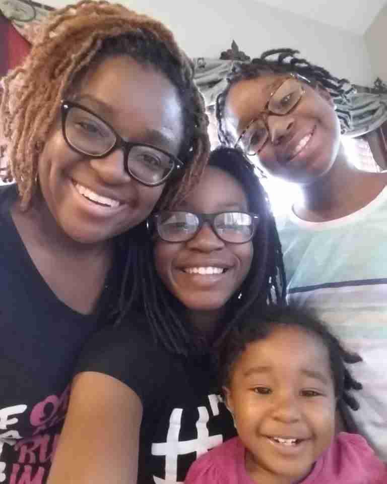 Isheka and nieces