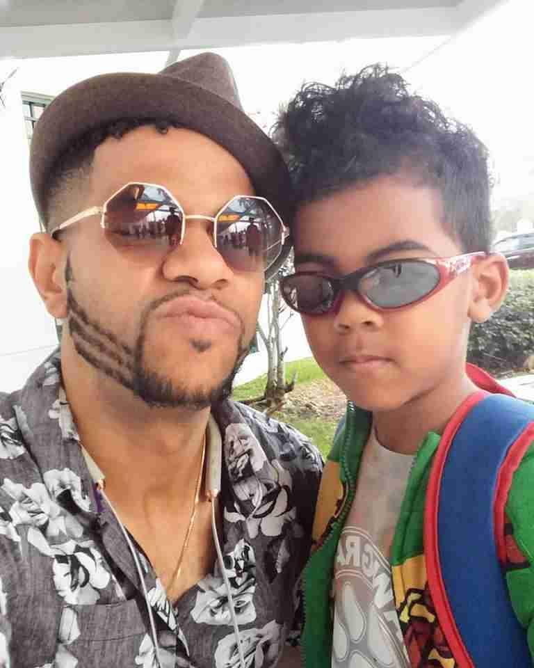 4C-Alexander Star with son Zion
