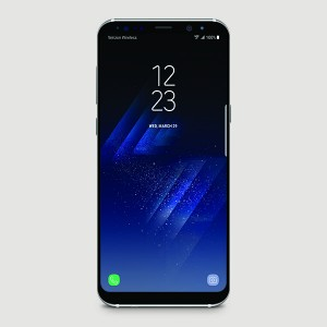 8C-Samsung Galaxy S8+_Silver_Front