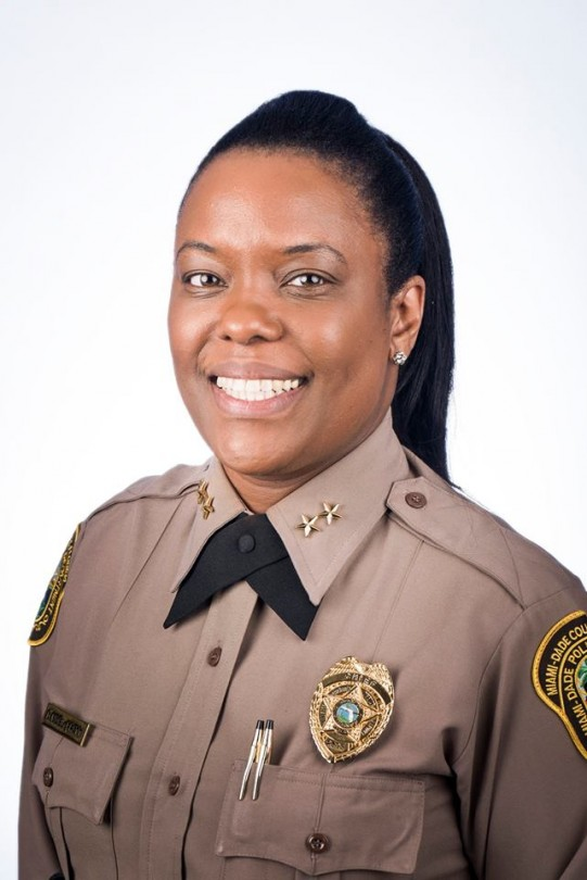 Miami gardens names first female police chief south florida times for Miami gardens police department