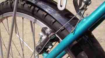 Bicycle_rear_brake_assembly