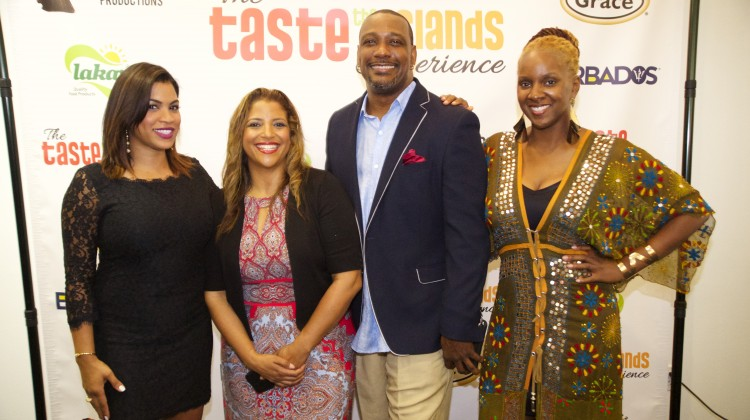 8C-Taste the Islands S2 Hosts Chef Thia, Chef Irie and Lisa Lee and Exec Prod Calibe Thompson - Photo by Gregory Reed