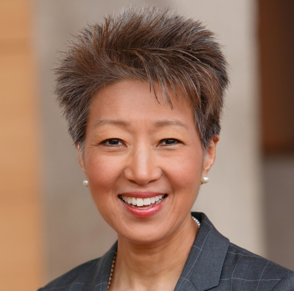 Jane Chu, Chairman of the National Endowment for the Arts.  Business for the Arts Awards Luncheon, hosted by the Colorado Business Committee for the Arts, at the Denver Center for Performing Arts, Seawell Ballroom, in Denver, Colorado, on Wednesday, March 9, 2016. Photo Steve Peterson