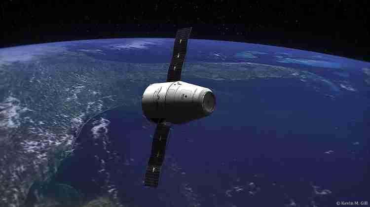 SpaceX_Dragon_Capsule_-_Earth_(15064807427)
