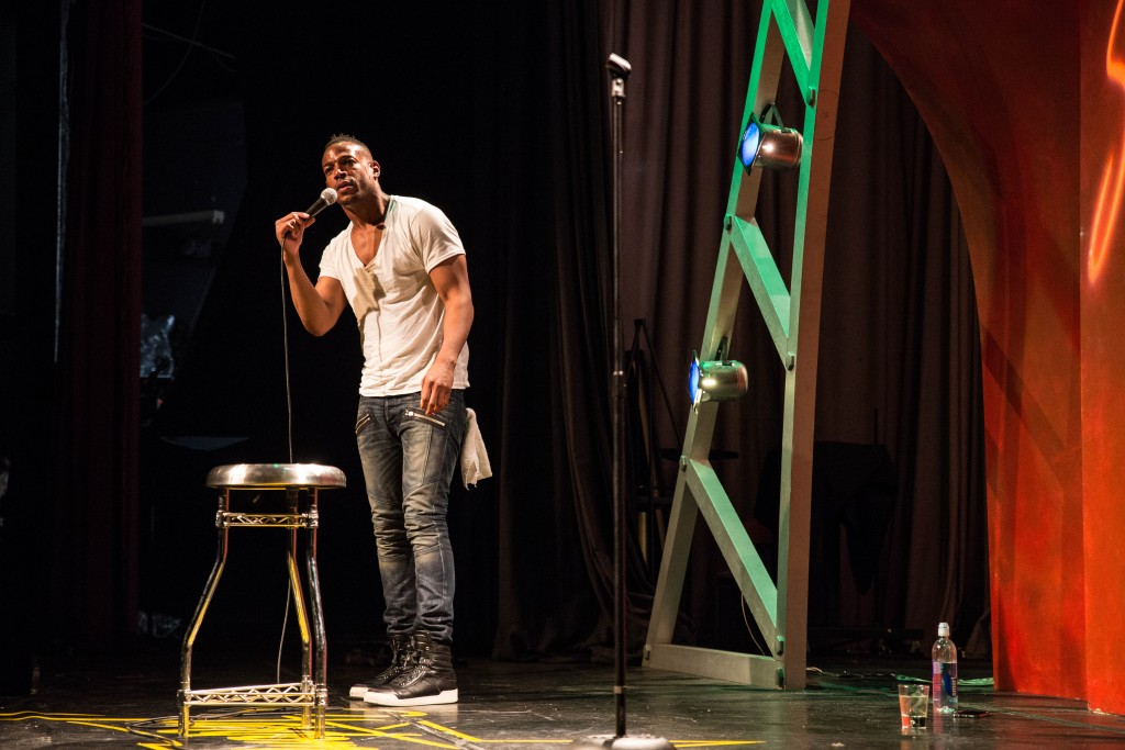 Marlon Wayans on Stage