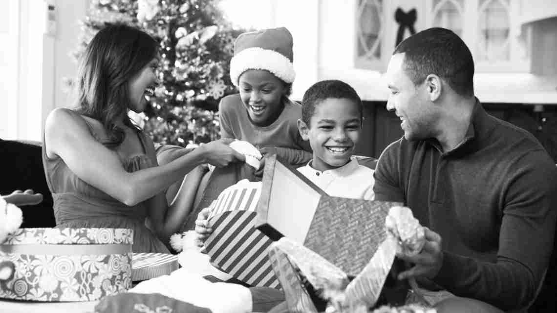 black-family-christmas
