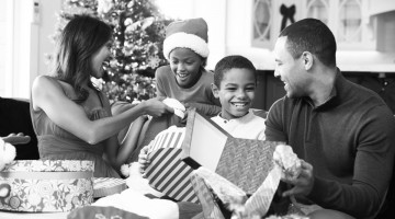 black-family-christmas