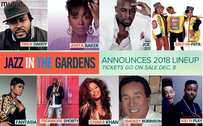 Jazz In The Gardens Line Up Sunday Garden Ftempo