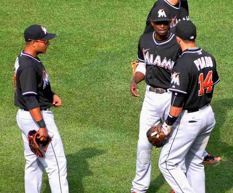 Marlins'_infielders,_2015