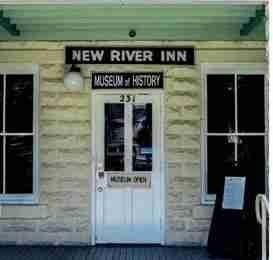 Apprentices restore new river inn
