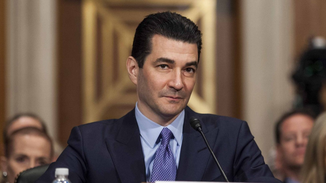 Nomination Hearing Held For Scott Gottlieb To Head The FDA Department