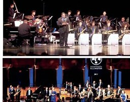 Dillard jazz ensemble