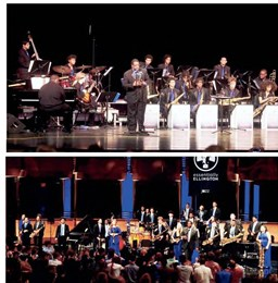 Dillard jazz ensemble