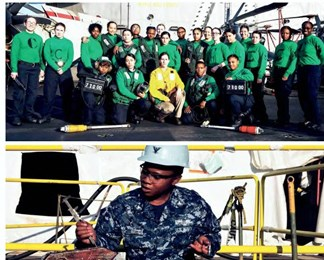 Miamian among all-women USS aircraft