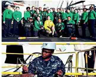 Miamian among all-women USS aircraft