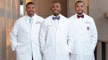 Three Black doctors detail their journey to success