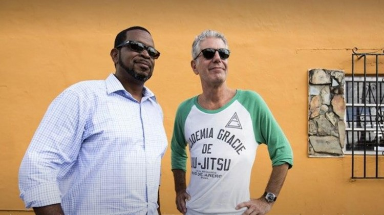Luther Campbell and Anthony Bourdain