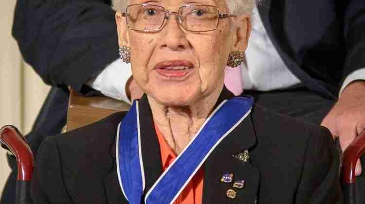 NASA mathematician Katherine Johnson