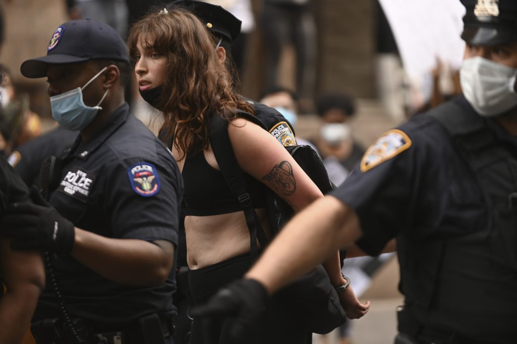Violence, arrests in New York City amid wave of protests